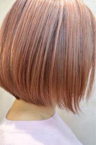 キャンデーピンク×キャロットオレンジのカラースタイル☆